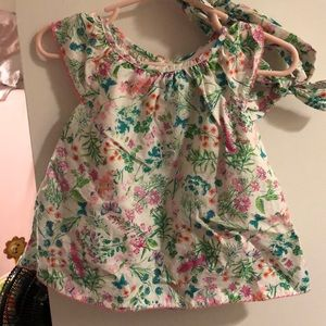 Tommy Bahama Baby Girl Dress 3-6 Months